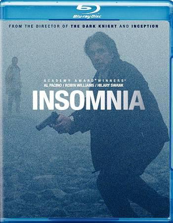 Insomnia [Blu-ray] Robin Williams Al Pacino Christopher Nolan 1