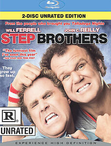 Step-Brothers-Blu-ray-Disc-2008-2-Disc-Set-Rated-Unrated-NEW