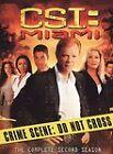CSI: Miami - The Complete Second Season (DVD, 2005, 7-Disc Set, Checkpoint)