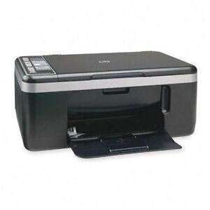 hp deskjet f4180 all in one inkjet printer ebay. Black Bedroom Furniture Sets. Home Design Ideas
