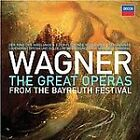 Wagner: The Great Operas from the Bayreuth Festival (CD, Jun-2013, 33 Discs, Decca)