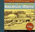Dim Lights,Thick Smoke And Hillbilly Music 1945 von Various Artists (2008)