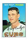 1967 Topps Ray Culp Chicago Cubs #168 Baseball Card