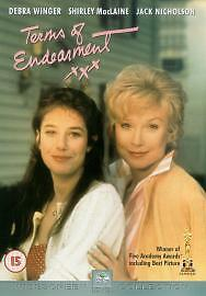 Terms Of Endearment DVD 2001 - thorne near doncaster, South Yorkshire, United Kingdom - Terms Of Endearment DVD 2001 - thorne near doncaster, South Yorkshire, United Kingdom