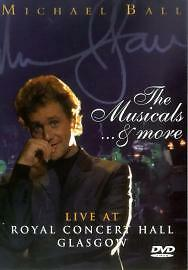 Michael Ball - The Musicals And More (DVD, 2002)