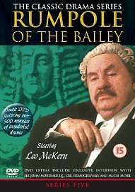 Rumpole Of The Bailey - Series 5 - Complete (DVD, 2003, 2-Disc Set) Uk Region 2