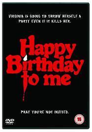 Happy Birthday To Me (DVD, 2004)