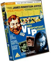 VERY-IMPORTANT-PERSON-region-2-DVD-JAMES-ROBERTSON-JUSTICE-LESLIE-PHILLIPS
