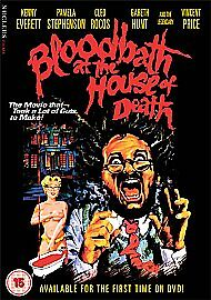 BLOODBATH AT THE HOUSE OF DEATH - DVD - REGION 2 UK