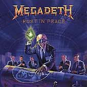 MEGADETH - Rust in Peace / Pressed in Italy / 1990 CD