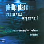Philip Glass - : Symphonies Nos. 2 & 3 (2004)