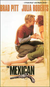 The-Mexican-Amore-senza-la-sicura-2000-VHS-DreamWorks-Video-Brad-Pitt