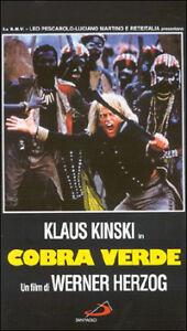 Cobra Verde (1988) VHS DeltaVideo KLAUS KINSKI - Herzog - Italia - L'oggetto può essere restituito - Italia