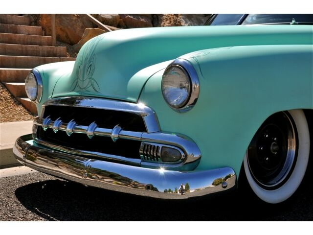 52 CHEVROLET STYLELINE TAIL DRAGGER - Celebrity Rat Rod