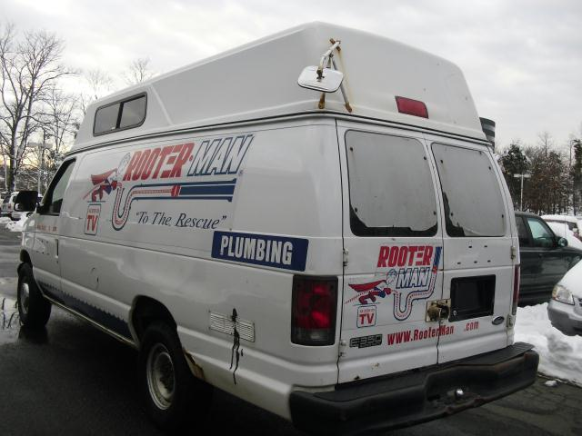 2002 Ford E350 High Top Super Duty Cargo Van Mech Spec