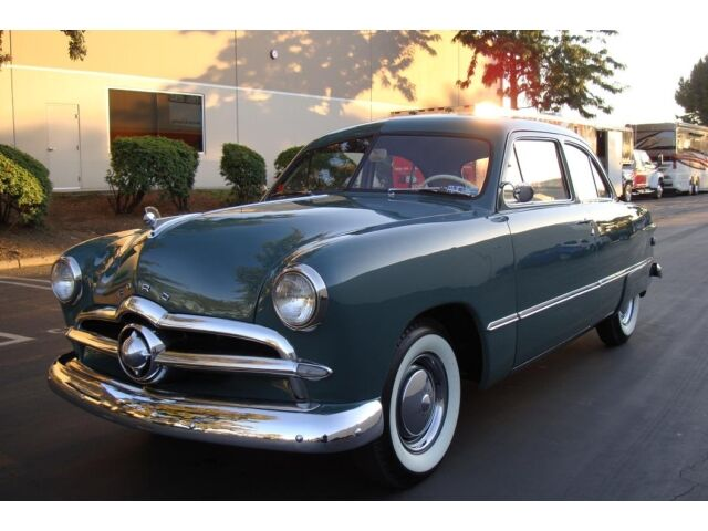 Used 1949 Ford Custom Tudor Sedan Flat Head Survivor For