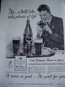1937-Hires-Root-Beer-Rootbeer-Plenty-Life-Full-Page-Ad