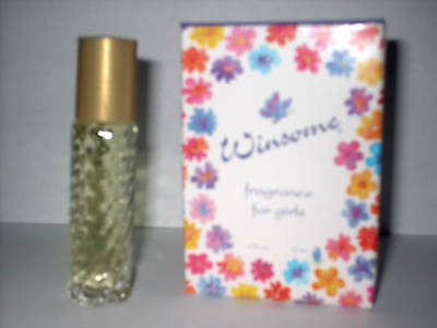 Winsome Girls Perfume Kids Roll On Fragrance Valentine Gift Made Usa Travel Size