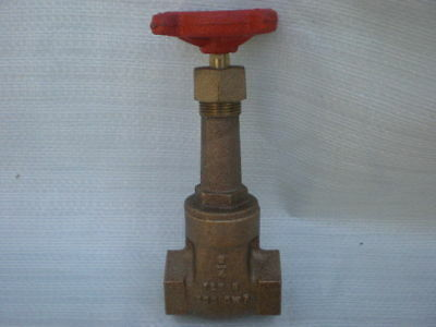 Stockham Gate Valve B-100 3/4 Threaded