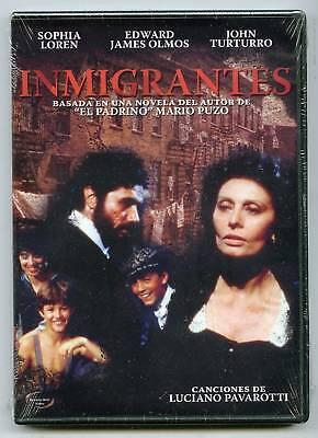 Inmigrantes (dvd) Sophia Loren, Edward James Olmos, Stuart Cooper, Brand