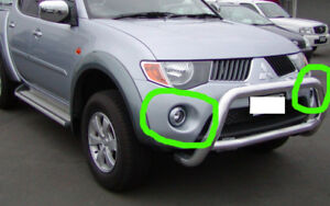Mitsubishi Triton ML 06-08 Fog Lights Fog Lamps Kit