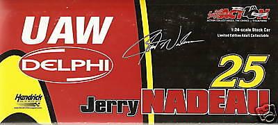Action 2002 Jerry Nadeau Uaw Delphi Monte Carlo 1:24