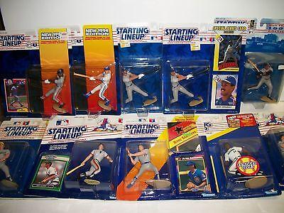 10 Starting Lineup Mlb Figures 1988-97