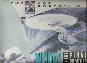 STAR TREK 25TH ANNIVERSARY ART PORTFOLIO-NEW-14 VISIONS