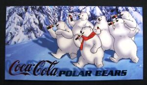 Coca Cola Sign of Good Taste Polar Bear Chase Card # 2