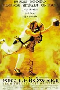 THE BIG LEBOWSKI Large Poster JEFF BRIDGES - JOHN GOODMAN