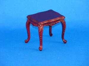 Dollhouse Town Square Miniature Platinum Collection Living Room Rococo SideTable