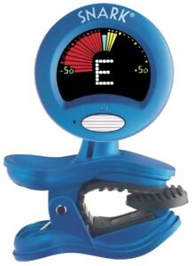 snark clip on chromatic guitar tuner by qwik tune blue sn 1 ebay. Black Bedroom Furniture Sets. Home Design Ideas