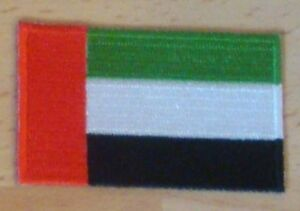 UNITED ARAB EMIRATES UAE Country Flag Embroidered PATCH