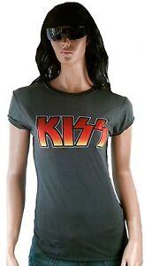 Vintage Hot Metal Logo Club Heavy Designer 38 S Star Kiss T Rock Amplified shirt 1wrpxfq041