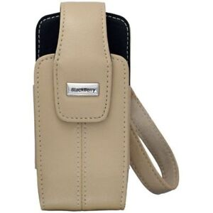 NEW-OEM-Genuine-Blackberry-Leather-Case-Holster-Pearl-9100-9105-HDW-12719-002