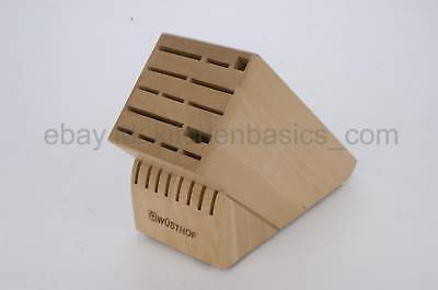 Wusthof 22 slot knife block - Beechwood ...