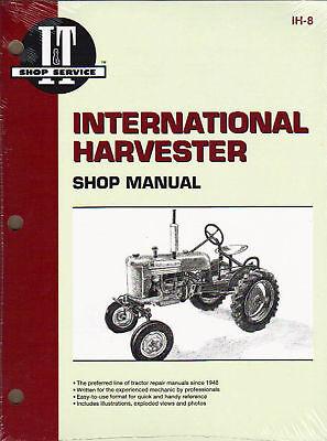 Intern'l Harvester Shop Manual-a B C Mta H M Md & More