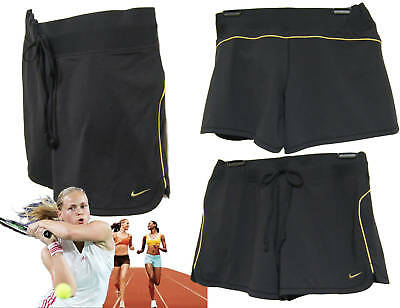 Nike Nikefit Ladies Tennis Fitness Shorts Size L Black