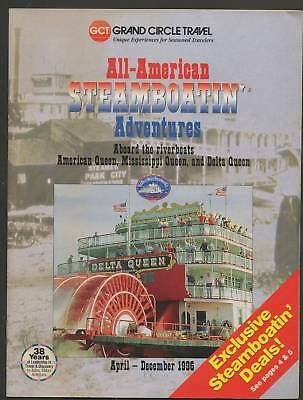 Travel Brochure ForAll American Steamboatin Adventures