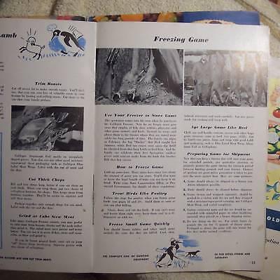 Sears-Coldspot-Freezer-Refrigerator-Book-Recipes-1955
