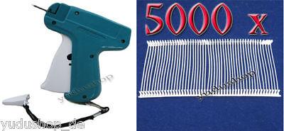 Etikettenpistole inkl. 6 Nadeln und 5000 x Fäden