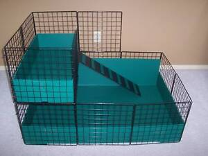 NEW-LARGE-42-x-28-Guinea-Pig-cage-with-2nd-level