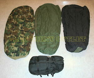 COMPLETE-4-PIECE-40-MODULAR-SLEEPING-BAG-SLEEP-SYSTEM-MSS-w-GoreTex-Bivy-GC