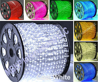 12v-COOL-WHITE-LED-Rope-Lights-Home-Lighting-Boat-Car-Truck-Home-Indoor-Outdoor