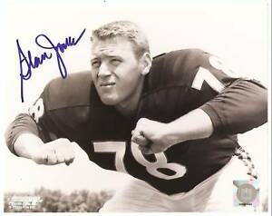 STAN-JONES-Signed-Auto-CHICAGO-BEARS-Photo-HOF-w-COA