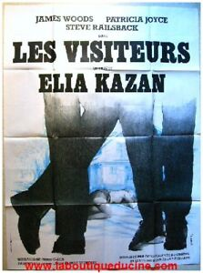 les visiteurs affiche cin ma movie poster elia kazan ebay. Black Bedroom Furniture Sets. Home Design Ideas