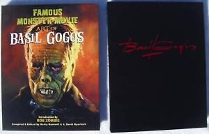Rare Famous Monster Movie Art of Basil Gogos Hardcover