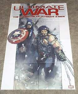 Ultimate-War-X-Men-Wolverine-Avengers-Captain-America-Marvel-Comics-promo-poster
