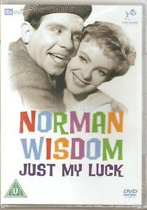 NORMAN WISDOM JUST MY LUCK DVD CLASSIC FILM