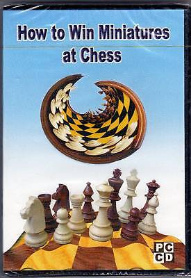 How To Win Miniatures At Chess (cd). Software